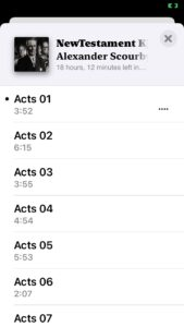 ios 14 scourby bible displayed